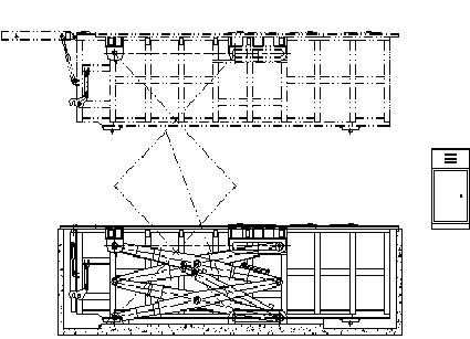受圾箱的顶部专门设计有翻板式垃圾投料口;袋装垃圾